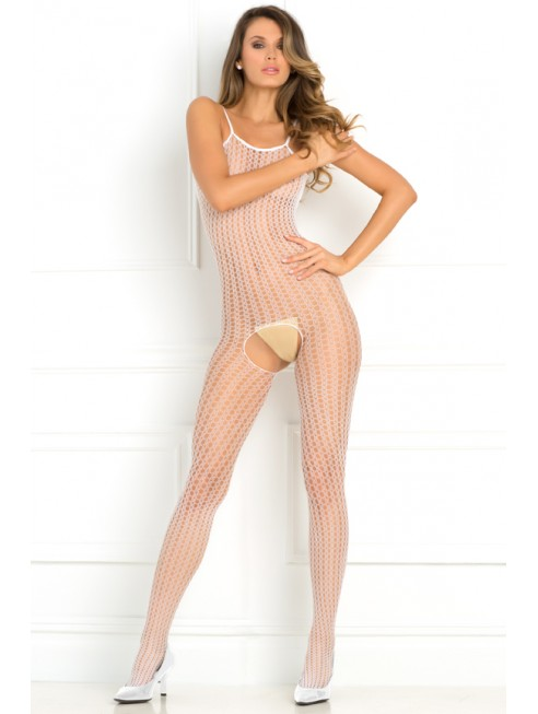 Bodystocking large maille