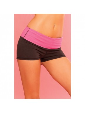 "Short yoga réversible ""Strike a pose"" - PLK26013-BLK"