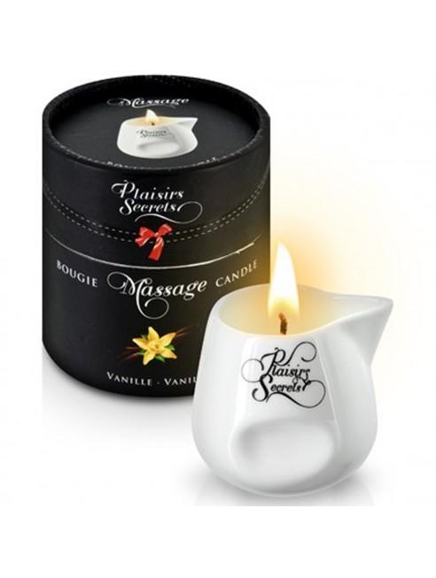 grossiste dropshipping Bougie de massage vanille sensuelle pot en céramique 80ml