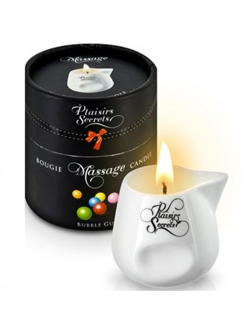 Fournisseur Plaisirs Secrets Bougie de massage bubble gum sensuelle pot en céramique