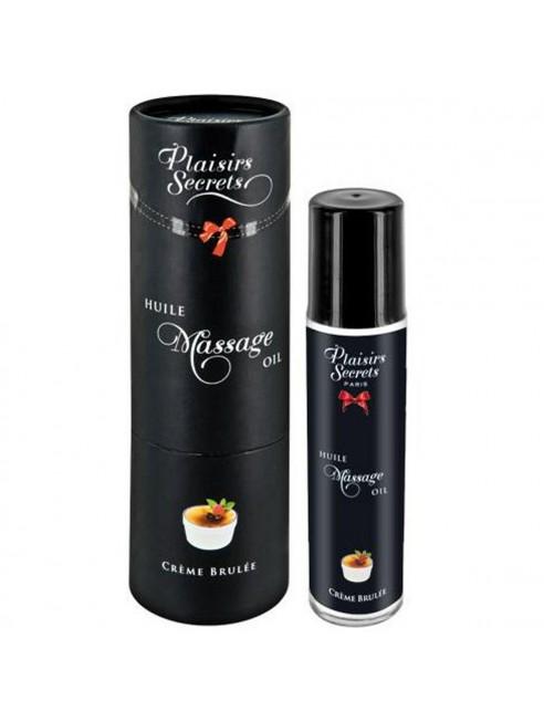Huile de massage comestible dropshipping crème brûlée