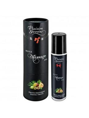 Fournisseur huile de massage dropshipping fruits exotiques