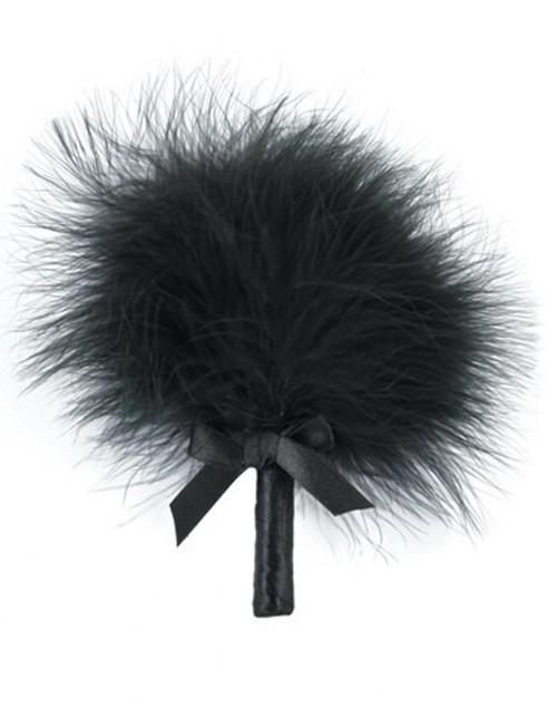 Fournisseur dropshipping plumeau caresse noir