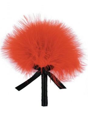 Plumeau rouge avec noeud satiné - CC5160630030