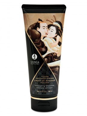 Fournisseur Shunga creme de massage chocolat dropshipping