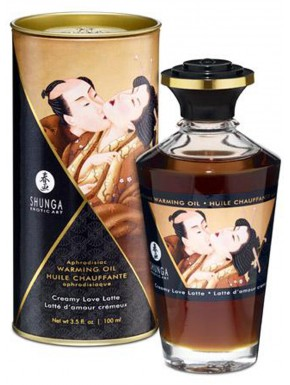 Grossiste dropshipping shunga huile cremeuse de massage chauffante