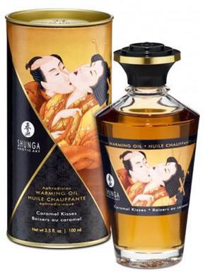 Fournisseur huile de massage caramel dropshipping Shunga comestible chauffant