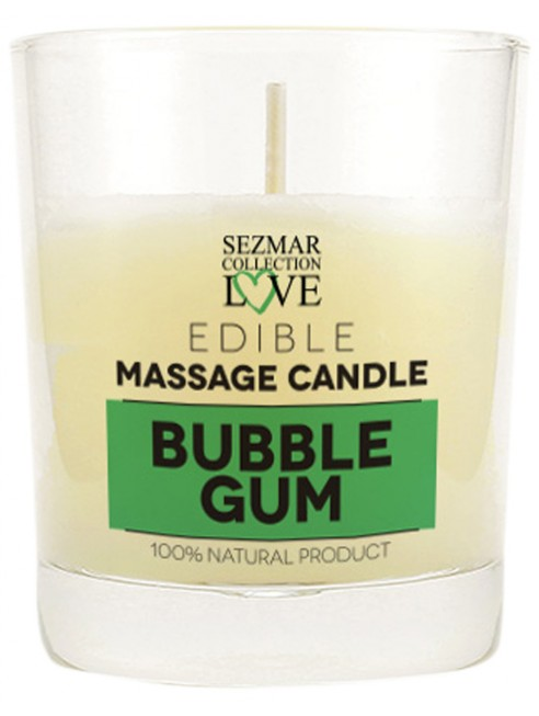 Grossiste dropshipping bougie de massage bubble gum