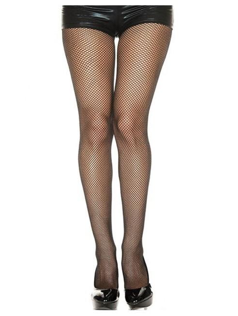 Grossiste lingerie dropshipping Collant noir fine résille sexy