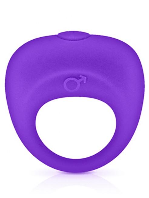 Grossiste sextoys dropshipping Anneau de pénis vibrant violet