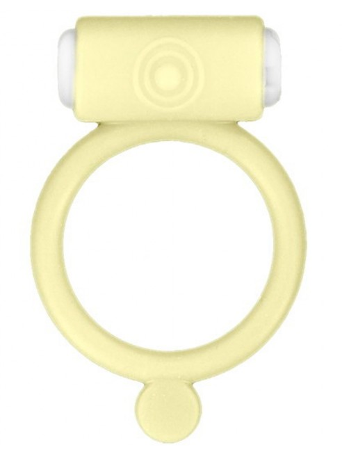 Fournisseur Glamy Cockring phosphorescent jaune vibrant avec stimulation du clitoris