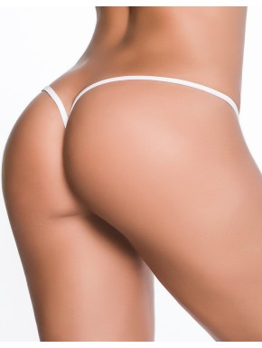 Fournisseur dropshipping Mapalé String ficelle invisible sexy blanc dos en forme Y