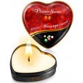Grossiste Plaisir Secret Mini bougie de massage bubble gum boîte coeur 35ml