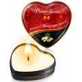 Grossiste Plaisir Secret dropshipping Mini bougie de massage fruits exotiques boîte coeur 35ml