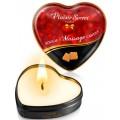 Fournisseur Plaisir Secret dropshipping Mini bougie de massage caramel boîte coeur 35ml