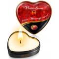 Grossiste dropshipping Plaisirs Secrets Mini bougie de massage pêche de vigne boîte coeur 35ml
