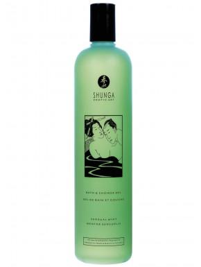 Grossiste Shunga Gel de bain et douche menthe 500ml