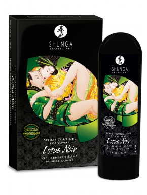 Grossiste dropshipping Shunga Gel sensibilisant de couple Lotus Noir 60ml