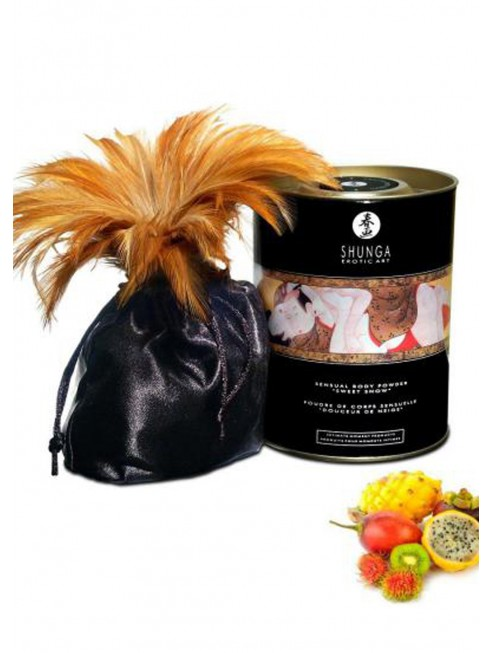 Grossiste drpshipping Shunga Poudre de massage corporelle comestible fruits exotiques 228grs