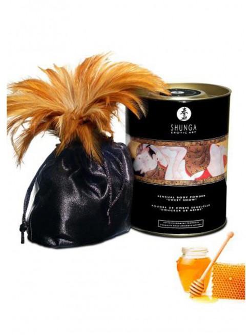 Grossiste Shunga dropshipping Poudre de massage corporelle comestible miel des nymphes 228grs
