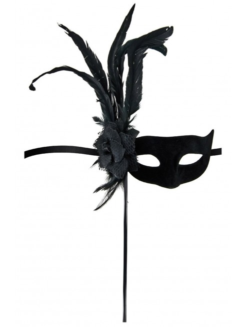 Grossiste dropshipping Masque loup Orfeo noir
