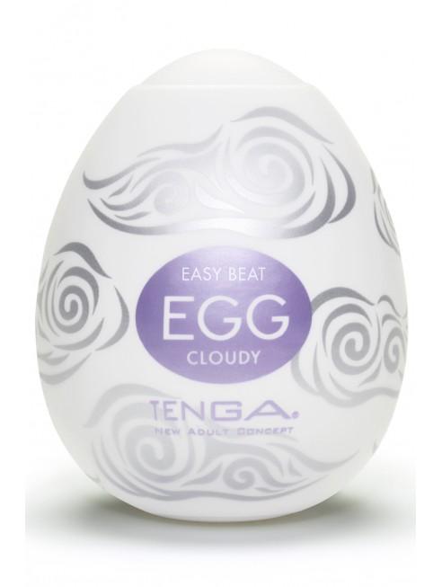 Fournisseur Tenga Oeuf masturbateur pression forte Cloudy
