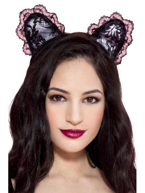 Grossiste lingerie coquine Petite oreilles de chatte en dentelle