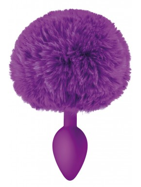Grossiste sextoys dropshipping Plug anal pompon violet