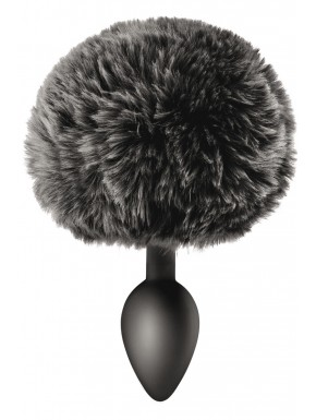 Plug anal pompon noir - CC5700910010