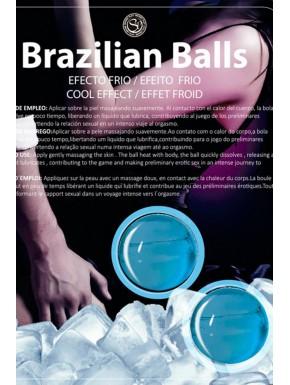 Boules de massage Brésiliennes effet fraîcheur