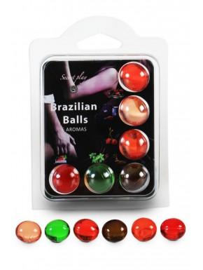 Boules de massage Brésiliennes multi-saveurs