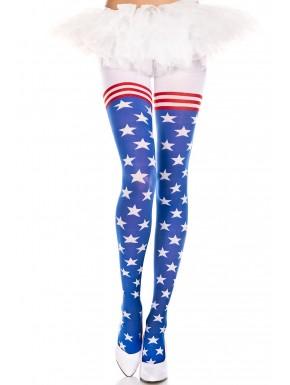 Collant drapeau américain