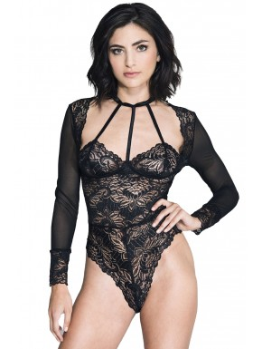 Body string manches longues avec ornements