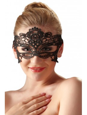 Masque noir brodé - FS24802631001