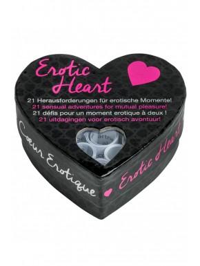 Jeu de défis Erotic Heart - E26395