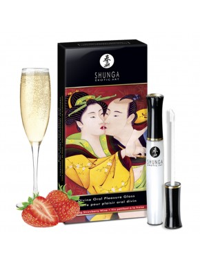 Grossiste gloss shunga plaisir oral fraise dropshipping
