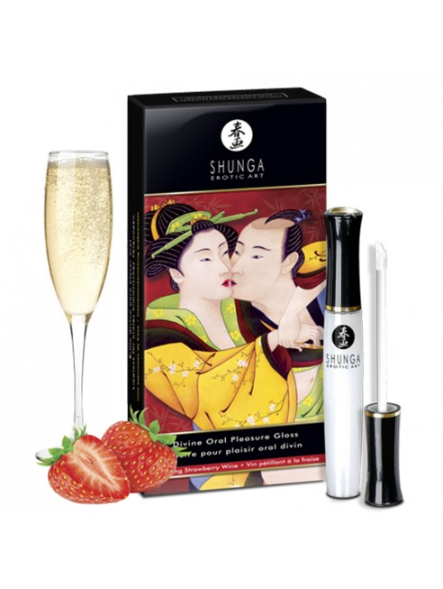 Grossiste gloss shunga plaisir oral fraise dropshipping