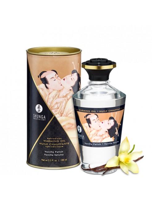 Fournisseur shunga dropshipping huile de massage vanille comestible