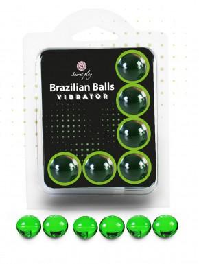 Pot de 6 boules Brésiliennes effet vibrant