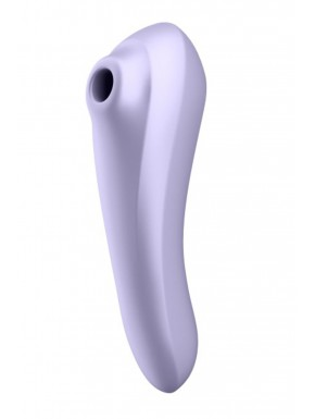 Vibromasseur et stimulateur de clitoris violet connecté Dual Pleasure Satisfyer - CC5972590201