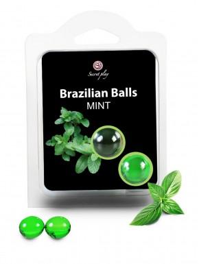 Boules de massage Brésiliennes menthe