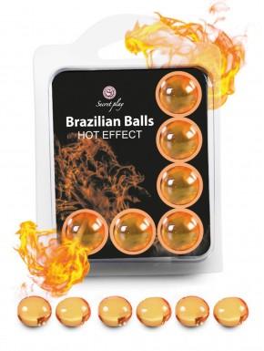 Boules de massage Brésiliennes effet chaleur x6 - BZ5752