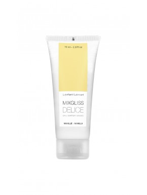 Lubrifiant Mixgliss eau Delice Vanille 70 ML - MG2252