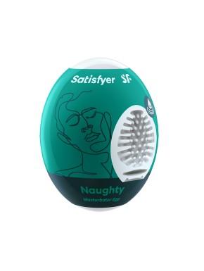 Oeuf masturbateur flexible Naughty Satisfyer - CC597021