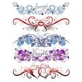 Tatouage éphémère - Plaque de 5 tattoos - TATribal 5