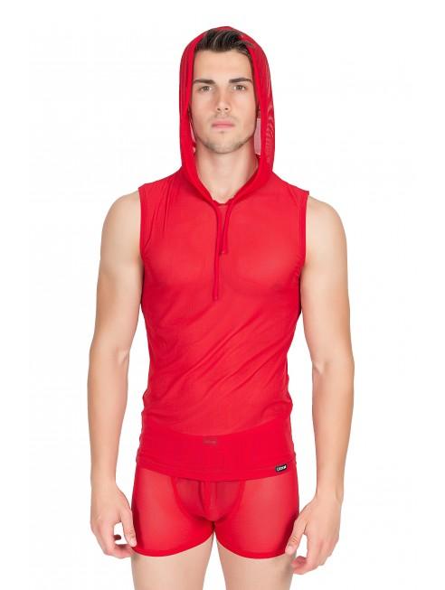 V-Shirt Malibu II Rouge