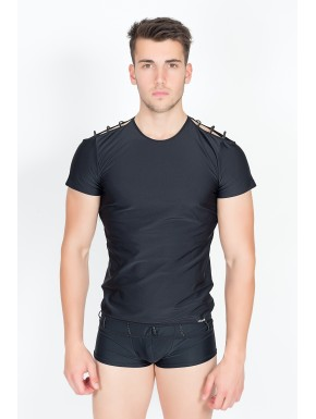 T-Shirt Marker Noir - LM713-81BLK