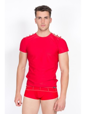 T-Shirt Marker Rouge